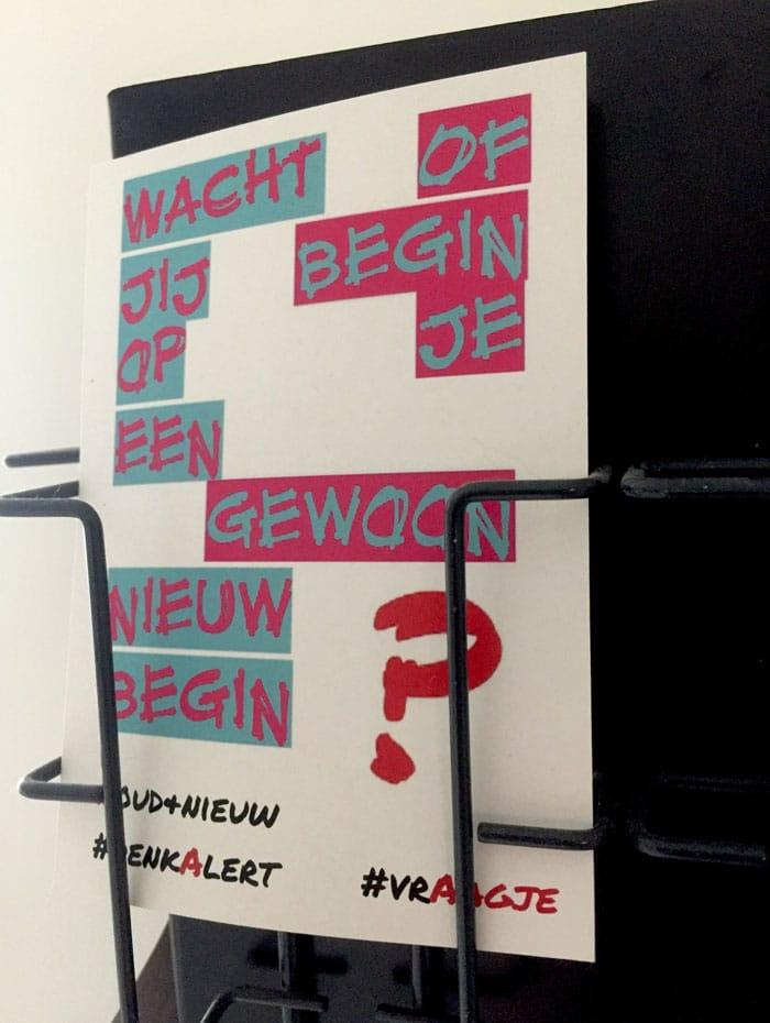 Wacht jij op een nieuw begin of begin je gewoon?